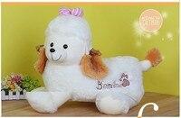 الشحن مجانا الكلب أفخم لعبة 32 سنتيمتر حجم كلب الراعي الكلب دمية أفخم دمية هدية للأطفال