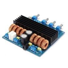 Nouveau TDA7498 + TL072 Classe D 2.1 canal numérique power board amplificateur Classe D Amplificateur Bord Au-delà