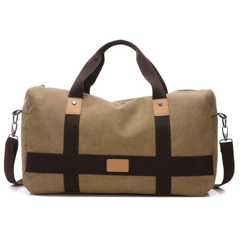 c9a19bdbf75c A nagy kapacitású vászon táska Brand kiváló minőségű, erős férfi ...