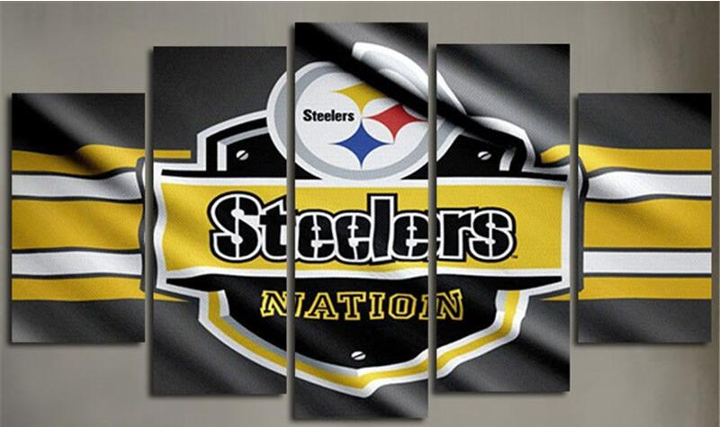 popular steelers wall decor-buy cheap steelers wall decor lots
