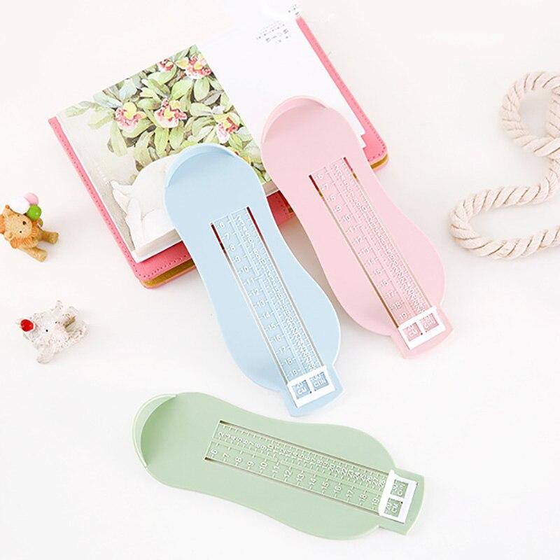 Kids Infant Foot Measure Gauge Shoes Size Measuring Ruler Tool Toddler Infant Shoes Fittings Gauge Baby Children Foot Ruler
