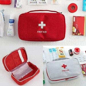 Image 2 - Portable Camping First Aid Kit Emergency Medical Bag Waterproof Car kits bag Outdoor Travel Survival kit Empty bag Househld