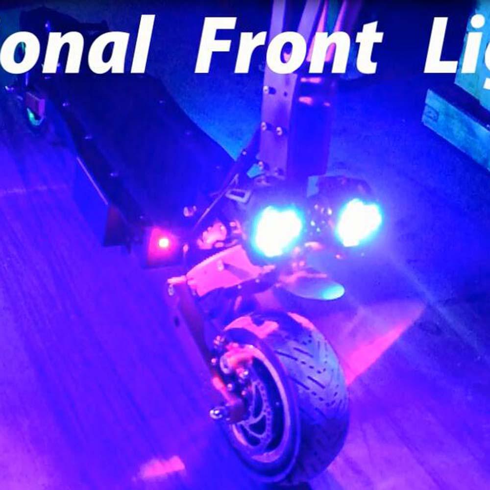 Super fou vitesse 85 km/h 3200 W deux moteur électrique 2 roues hoverboard scooter, coup de planche à roulettes gros pneu