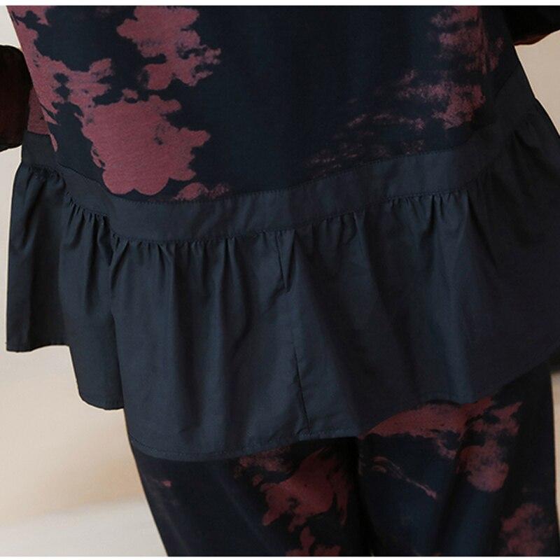 YICIYA volants 2 pièces ensemble survêtements pour femmes tenue sportswear co-ord ensemble grande taille 4xl 5xl gros vêtements noir elégant - 5