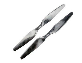 16x 5.5 Carbon Fiber Propeller Set CW CCW 1655 For T-Motor Multicopter Quadcopter F08917 t motor 1255 three hole carbon fiber propeller cw ccw for rc aircraft 2 pairs