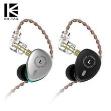 KBEAR KB06 2BA+1DD Hybrid In Ear Earphone HIFI Sport Earphone With 3.5mm MMCX Earbud