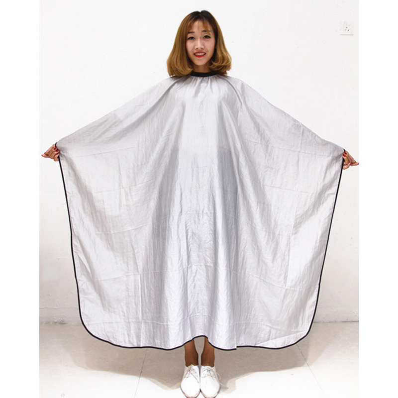 Hair Cutting Hairdressing Cloth Barbers Hairdresser Large Salon Adult Waterproof Cape Gown Wrap Black Hairdresser Cape Gown Wrap