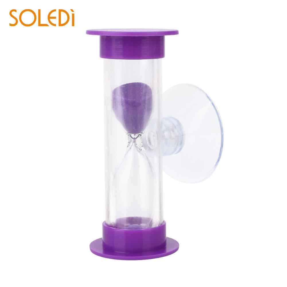 Песочные часы 3 минуты стеклянные Песочные часы Таймер для душа инструмент для купания детский таймер для зубной щетки песочные часы подарки