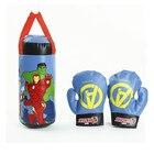 <+>  Детские мини боксерские перчатки набор детские развивающие декомпрессии железный человек  ✔
