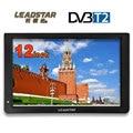 LEADSTAR HD портативный телевизор 12 дюймов цифровые и аналоговые светодиодные телевизоры поддержка tf-карты USB Аудио Видео плеер автомобильный т...