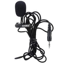 DAGEE IMTC петличный 2 м 3,5 мм Микрофон Гарнитура для Micor высокое качество DAGEE DG-001 MIC мини портативный микрофон