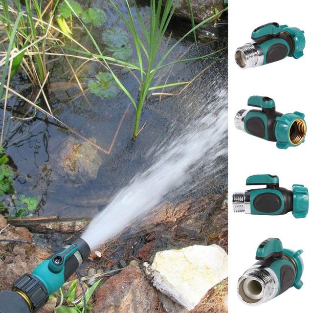 garden hose splitter. 1/2/4 way garden hose splitter connector adaptor switch water drip irrigation