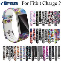 Soft Bracelet For Fitbit Charge 2 Strap Band Replacement Sport Wristband for Watchband Silicone Rubber