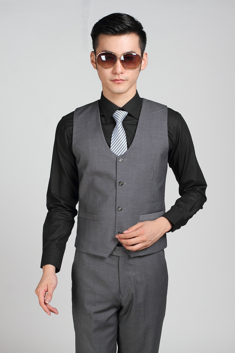 Popular Grey Suit Vests for Men-Buy Cheap Grey Suit Vests for Men ...