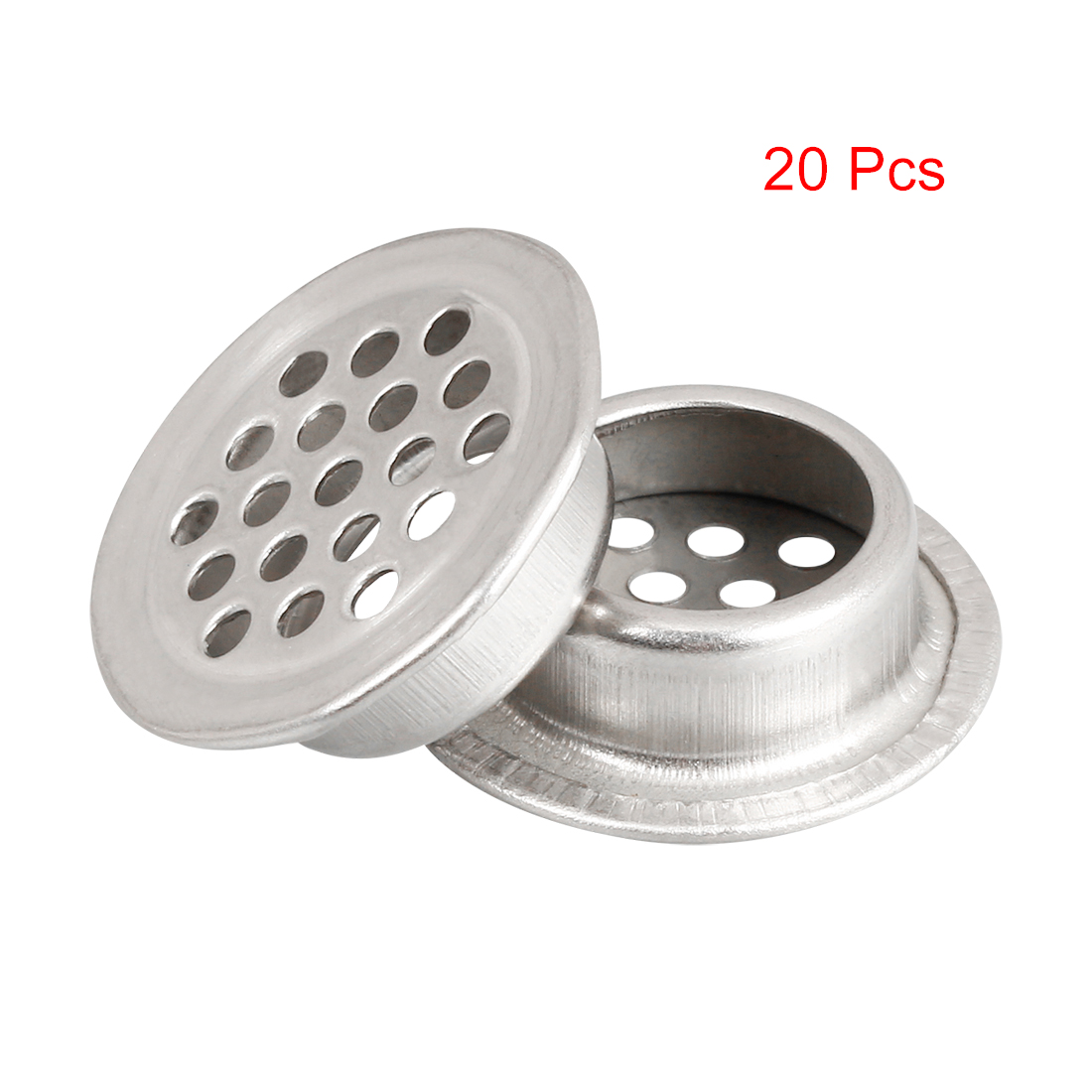 Uxcell New 20pcs Air Vent Extract Valve Grille Round Diffuser Ducting Ventilation Cover 19mm 25mm Air Vent Ventilator For Home