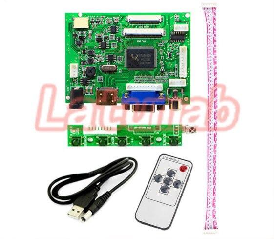 Latumab 40pin 50pin AT065TN14 AT070TN90 AT090TN10 HE080IA-01D LCD Screen Controller Monitor HDMI VGA 2AV Audio Driver Board Kit