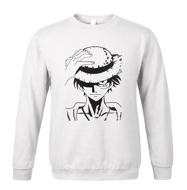 One Piece Luffy Men Sweatshirts Hoodie