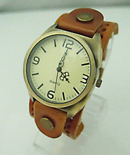 Scorching Sale Unisex Real Cow leather-based wrist watch wholesale style Wrap watch girls males women christmas present KOW028