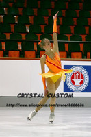 Ice Figure Skating Dresses For Girls Graceful New Brand Kids Competition Figure Skating Dress Custom DR3979