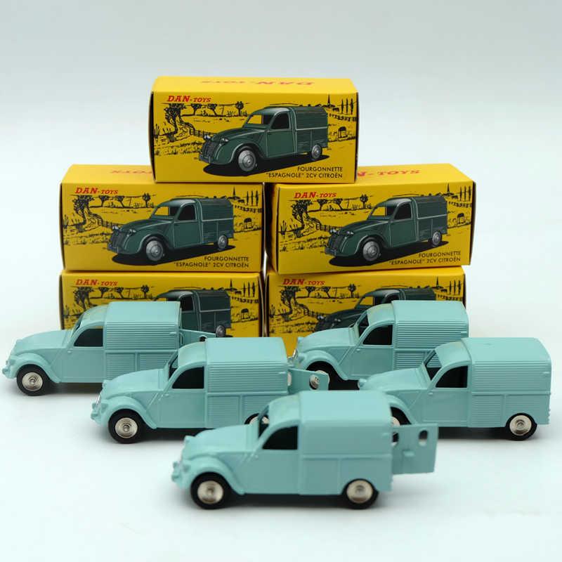 5 шт. Decasts & toy Транспорт 1:43 CIJ Atlas Дэн 019 021 Citroen 2CV литья под давлением Автомобили Модель коллекции хобби Ограниченная серия ...