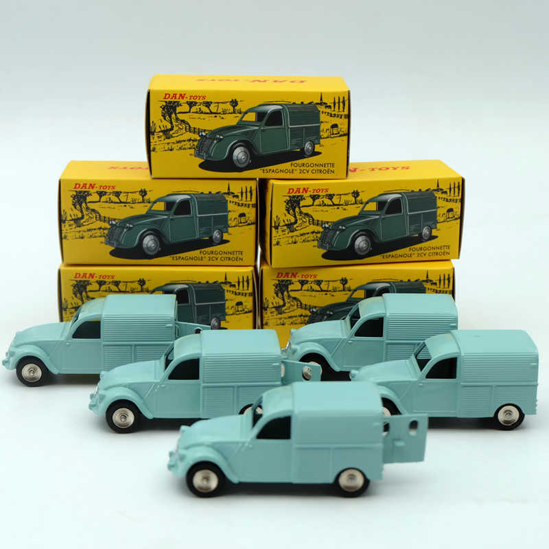 Decasts & Toy Vehicles 1:43 CIJ Atlas DAN 019 021 Citroen 2CV Diecast Cars Model Collection Hobbies Limited Edition