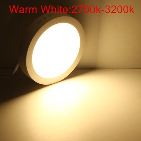 25 w ac85 265v rodada regulavel montado superficie do teto levou downlight