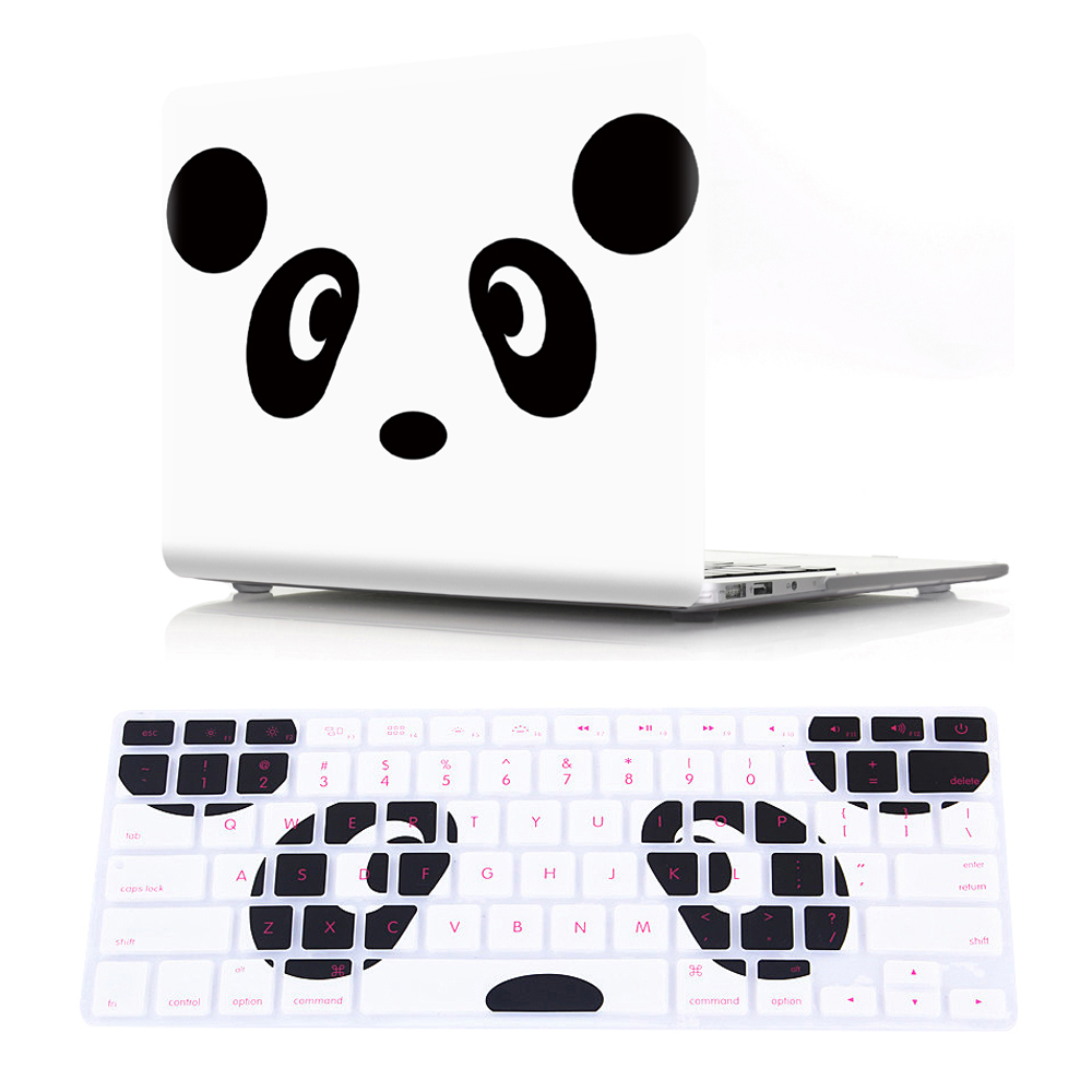 Viviration With Silicone Keyboard Cover Promotion Hard PVC Cover Waterproof Shell Case For Macbook Air 11.6 13.3 Pro 15 A1286 PC
