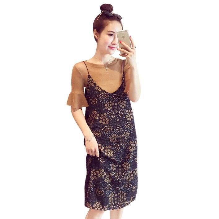 Осенние платья с коротким рукавом
