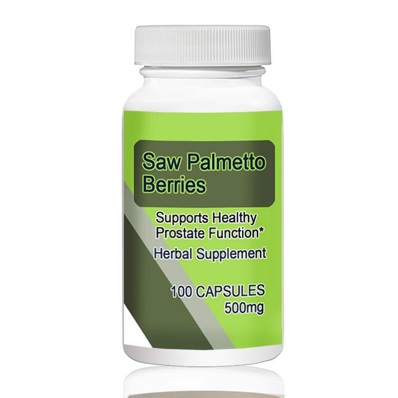 Saw Palmetto Berries   500mg 100pcs   Supports Healthy Prostate Function*