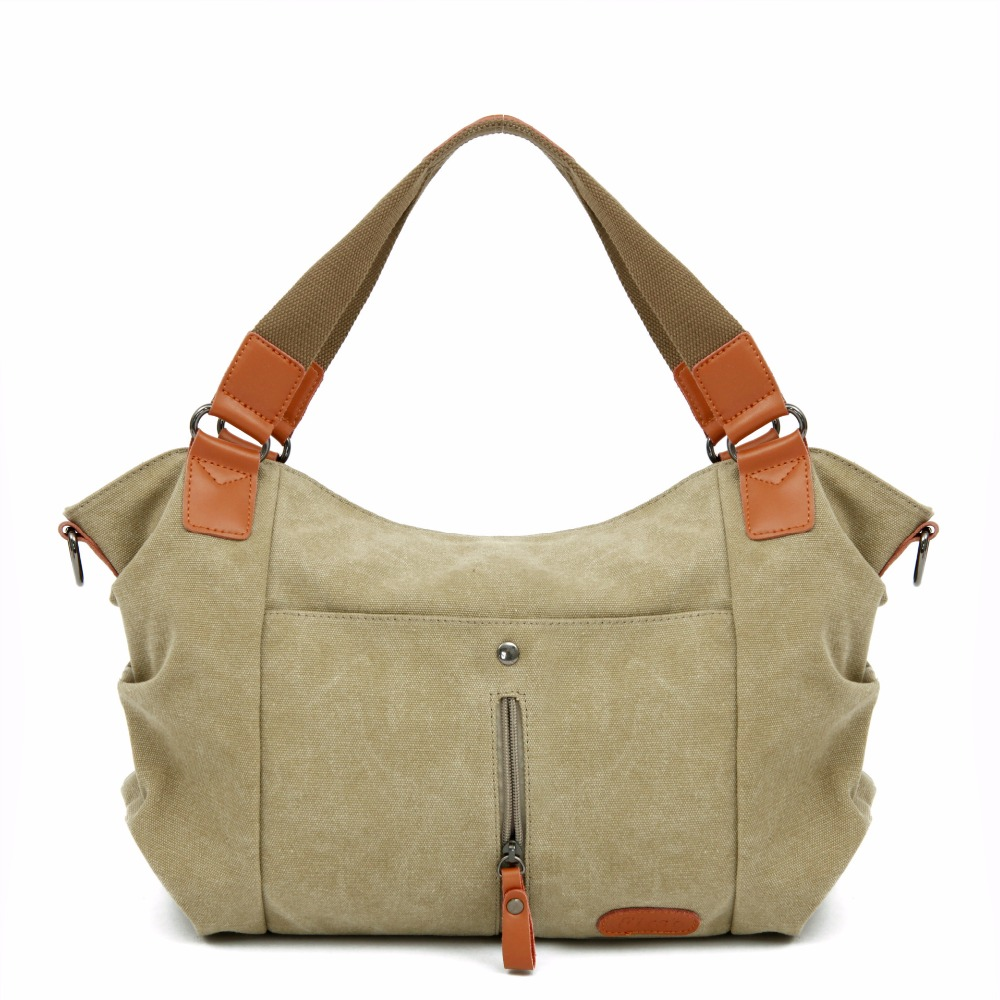 New Brand Washed Canvas Style Design Womens Handbag Ladies Crossbody Shoulder Bags Messenger Bag Travel All Matched Bag