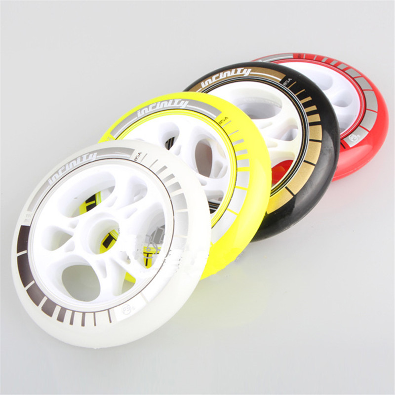 PowerSlide PS Infinity Speed Skating wheels 8 Pcs lot High Response Roller Skates Speeding Racing Wheel