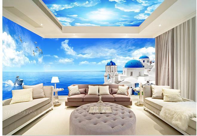 Personalizzato 3d murale carta da parati tv sfondo del for Immagini carta da parati 3d