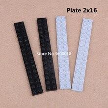 10 pçs/lote decool peças compatíveis com 4282 placa 2x16 moc tijolo diy blocos montar partículas tijolos conjunto