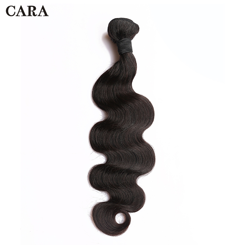 Body Wave Bundles Human Hair Extensions Brazilian Hair Weave Bundles Natural Color 1 Piece Remy Hair CARA