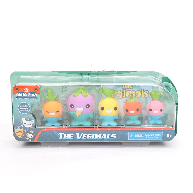 Image 5 - New 5 Pack 4.5 6cm Octonauts Toys The Vegimals PVC Action Figure Octonauts Accessories Party Supplies Seahorse Starfish Sailfish-in Action & Toy Figures from Toys & Hobbies