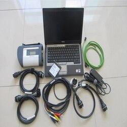 Mb star c4 sd Подключение для ноутбука dell d630 с программным обеспечением 2019,12 новейший sdd 360 гб диагностический сканер готов к использованию