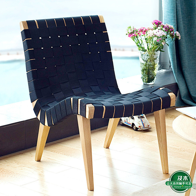 replica jens risom lounge chair in beach chairs from furniture on