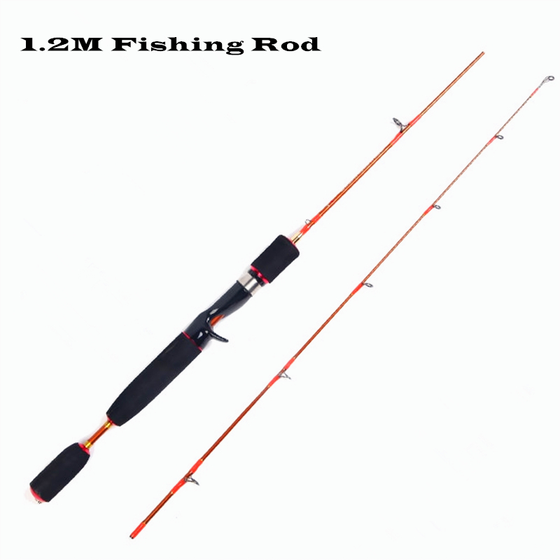 ФОТО 1.2 m raft rod lure fishing rod, lure weight 2-7 g  Horses mouth pole casting and spinning fishing rod fishing tackle