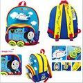 Бесплатная Доставка-холст хлопка томас рюкзак, томас сумки для 1-4 лет мальчики, дети школьный, детский сад мешок