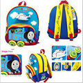 Free Shipping - canvas cotton thomas backpack, thomas bags for 1-4 years old boys, kids schoolbag, kindergarden bag