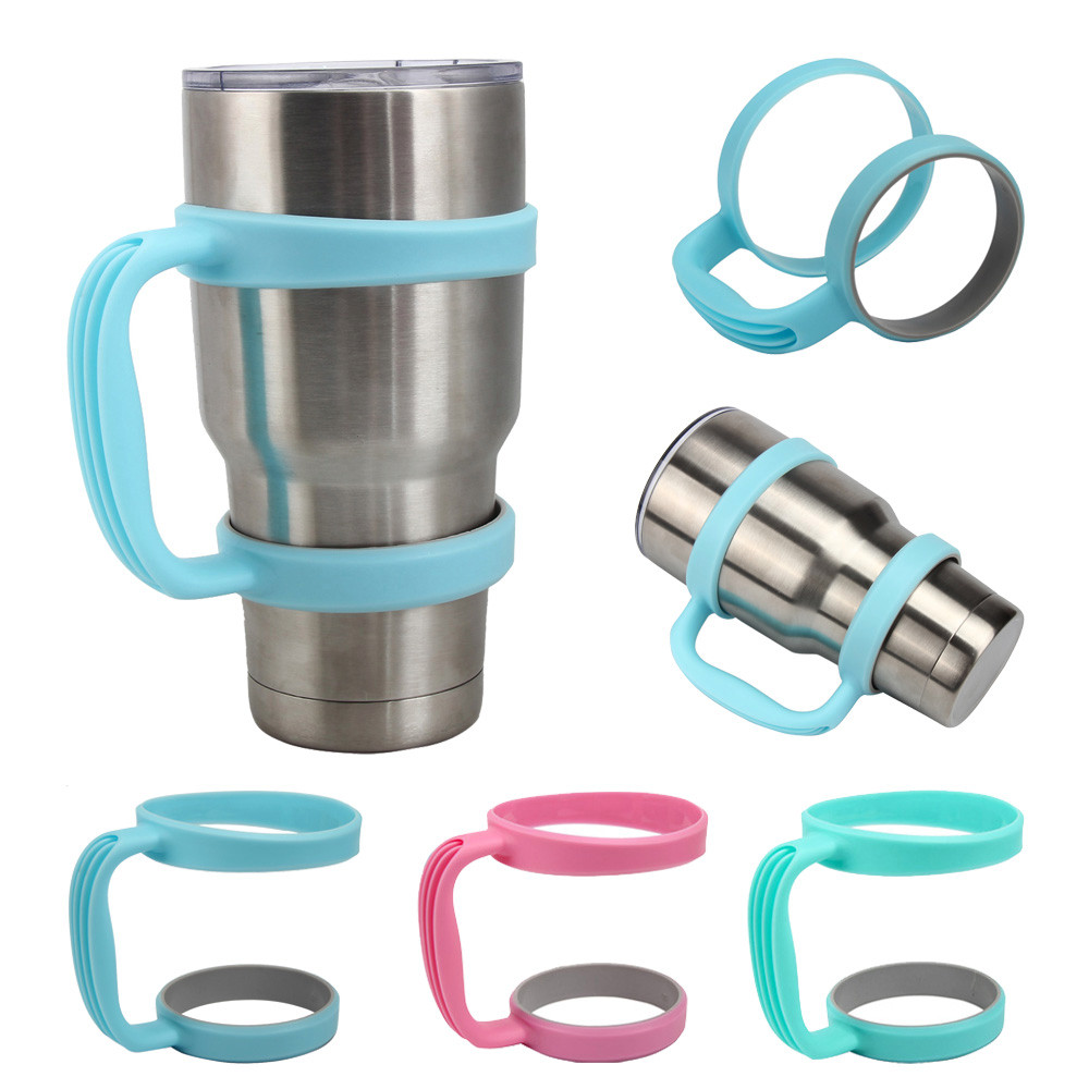3 Colors Coffee Mugs Handle for 30 Oz Stainless Steel ...