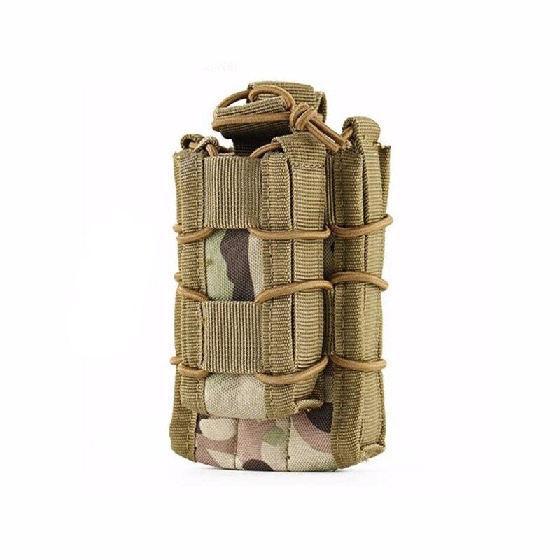 Nylon Tactical Magazine Pouch Double Rifle Pistol Holster Ammo Bag Vest Kit