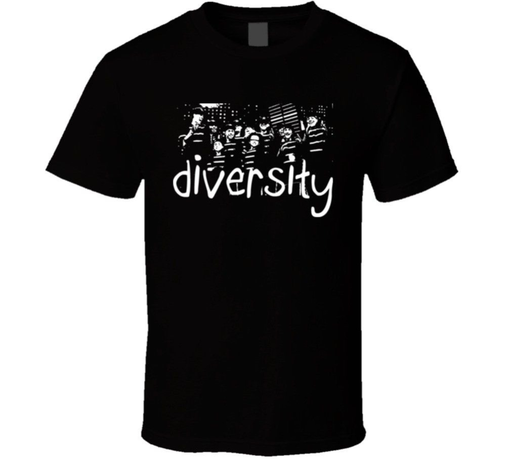 Vintage Tee Shirts New Style O-Neck Diversity Britains Got Talent Winners Short-Sleeve Mens Tee Shirt