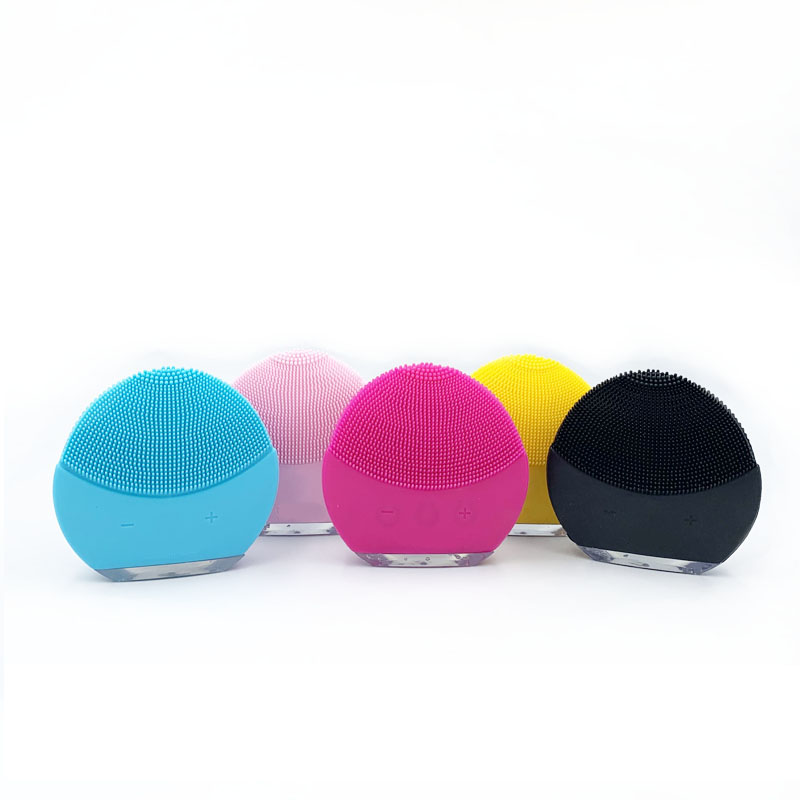 Mini cepillo masajeador de limpieza facial eléctrico para lavar la cara máquina limpiador de silicona limpieza profunda Dispositivo de masaje