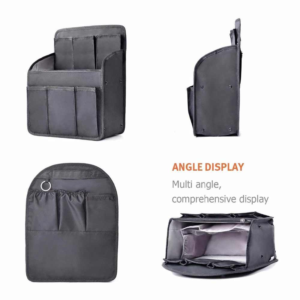 84d9a8021af3 Backpack Insert Bags Inner Storage Bag Large Capacity Travel Organizer For  Diaper Shoulders Sundries Finishing Handbag Organizer