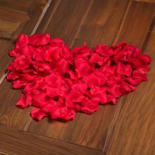 144pcs/pack 3packs Non-woven petals Wedding Artificial Flowers Decoration Wreath Decorative Crafts Engagement Celebration