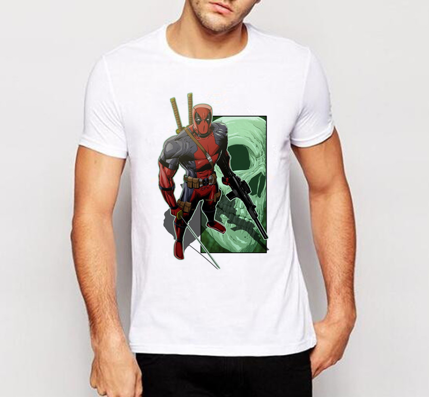 ALI shop ...  ... 32691836188 ... 3 ... Men t shirt New Arrive American Comic Badass Deadpool T-Shirt Tees Men Cartoon 3d t shirt Funny Casual tee shirts tops W-136# ...