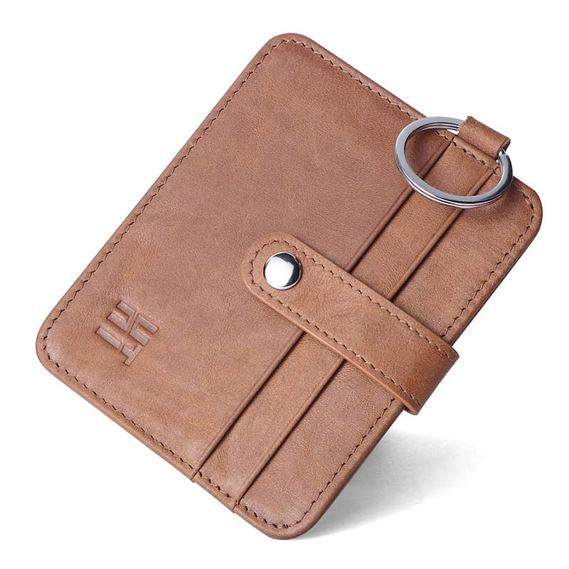 New Fashion Genuine Leather Women Purse Men Hautton Minimalist Slim Business Credit Id C ...