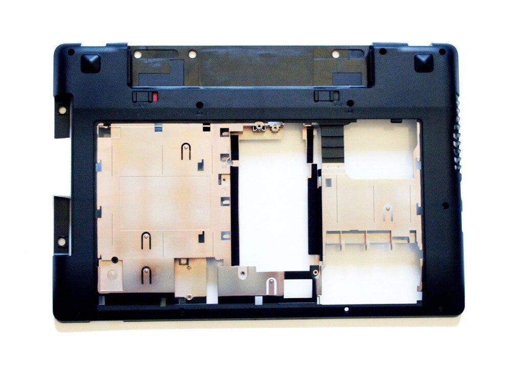 ФОТО 100% New Laptop Bottom Base Case Cover For Lenovo IdeaPad Z480 Z485 3ALZ2BALV10/00 Jack 90200656 LZ2