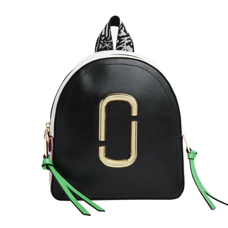 女性のバックパック 2018 新コントラストカラーブロックバックパックミニショルダーバッグ車ラインカジュアルジョーカーカメラバックパック  グループ上の スーツケース & バッグ からの バックパック の中 1